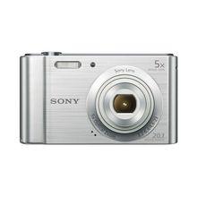 Компактная фотокамера sony DSCW800S серебристый