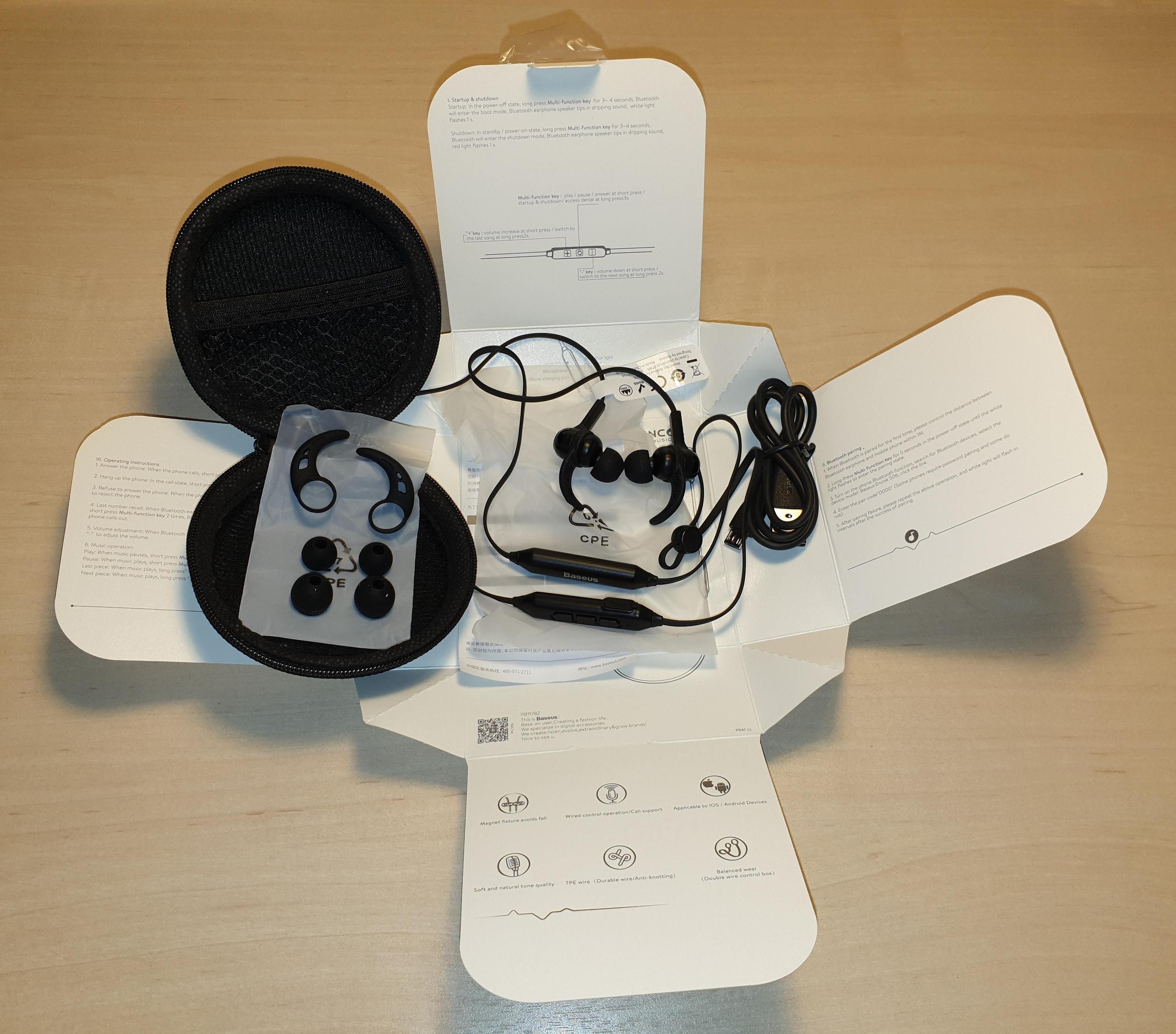 Baseus S06 Bluetooth Earphone Wireless Magnetic Neckband Bluetooth Headset Sport Earphone Stereo Earpieces For Samsung Xiaomi|Phone Earphones & Headphones| |  - AliExpress