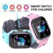 Oryginalny wodoodporna dla dzieci inteligentny zegarek dla dzieci SOS zegarek Smart anti lost dla dzieci 2G karty SIM zegar otrzymać telefon zwrotny od zegarek z gps