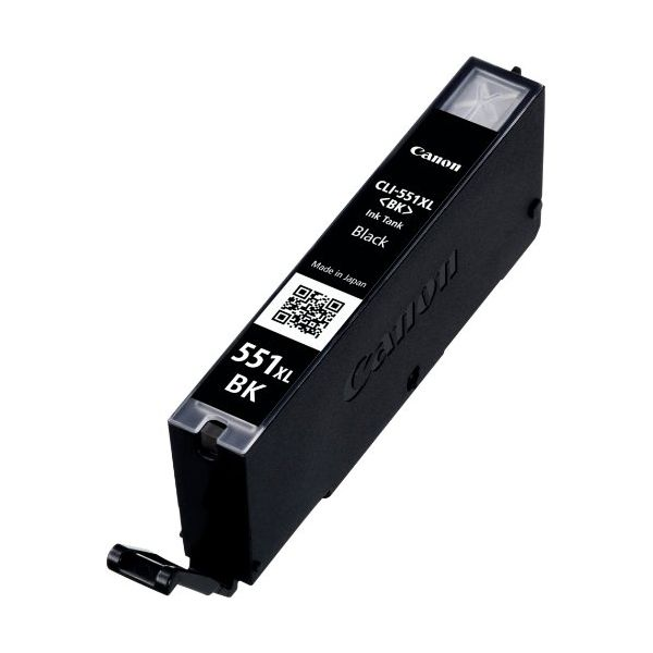 Original Ink Cartridge Canon CLI-551BK XL IP7250/MG5450 Black