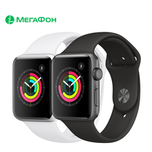 Умные часы Apple Watch Series 3, 38 мм [Ростест, новые, GPS, официальная гарантия] S3