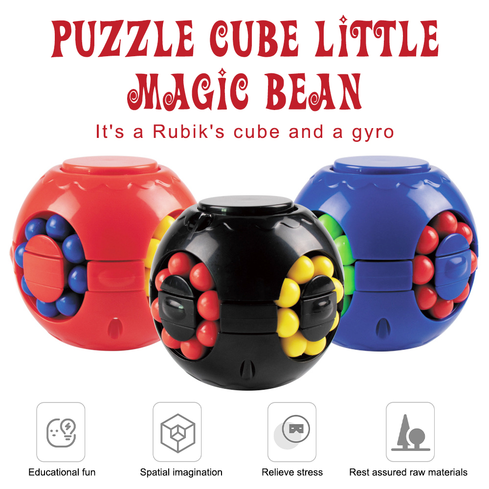 Stress Relief Toys for Kids//Adult Stress Rotating Magic Bean Fingertip Toy Fingertip Gyroscope Toys Anxiety Relief