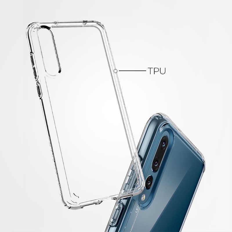 Rongecr Funda Negro con Huawei P20 Pro TE EXTRA/ÑO Carcasa Silicona TPU Suave Ultra Delgado Flexible Antideslizante Patr/ón Noble Huawei P20 Pro Soft TPU Case