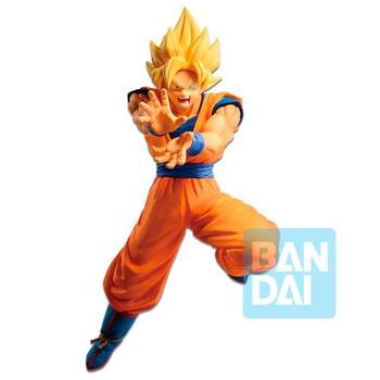 Original Figure anime dragon ball Z Statue The Android Battle Super saiyan Son Goku 17 cm by Banpresto