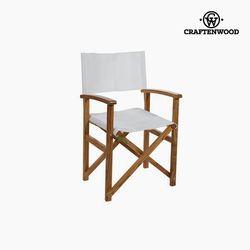 كرسي نيم وود أبيض (86 × 55 × 52 سم) من كرافتنوود