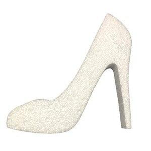 Shoe heel 20cm high expanded polystyrene for shop decoration or showcase