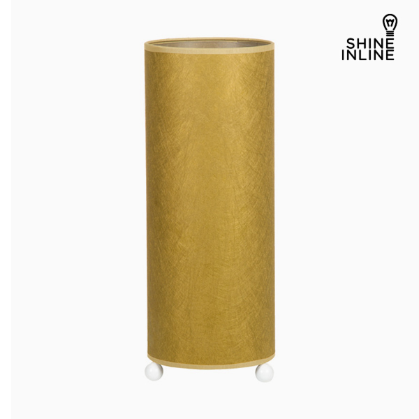 Desk Lamp Cellulose Gold By Shine Inline