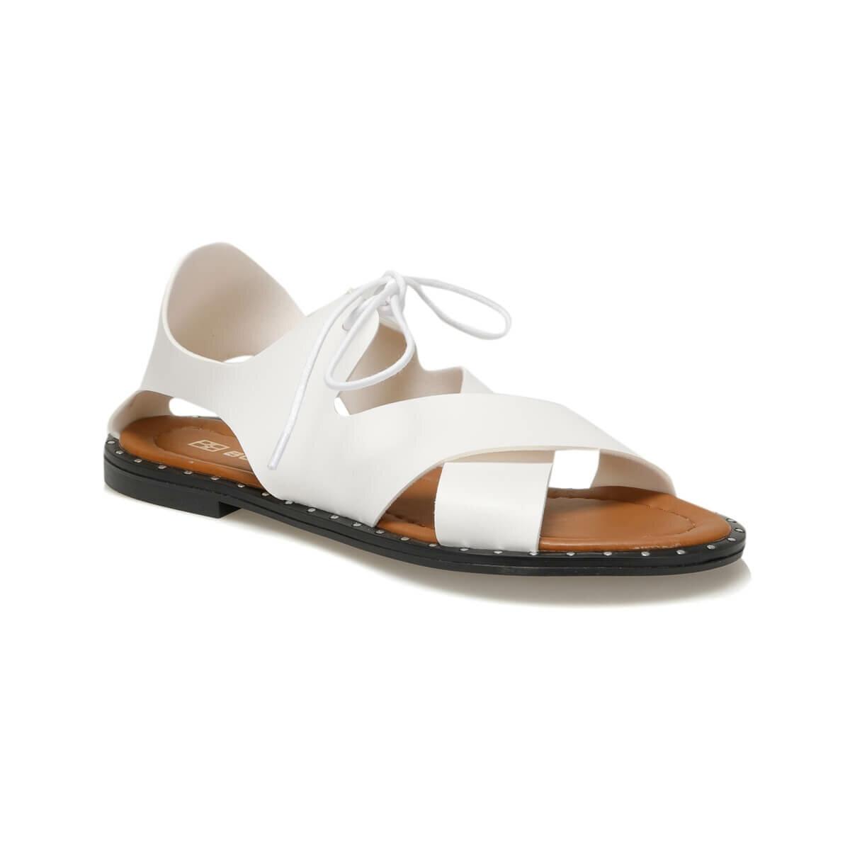 FLO 19SF-160501Z SKIN White Women Sandals BUTIGO