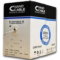 305 m FTP network Cable Coil Cat6 Rigid CU Shielded OFC