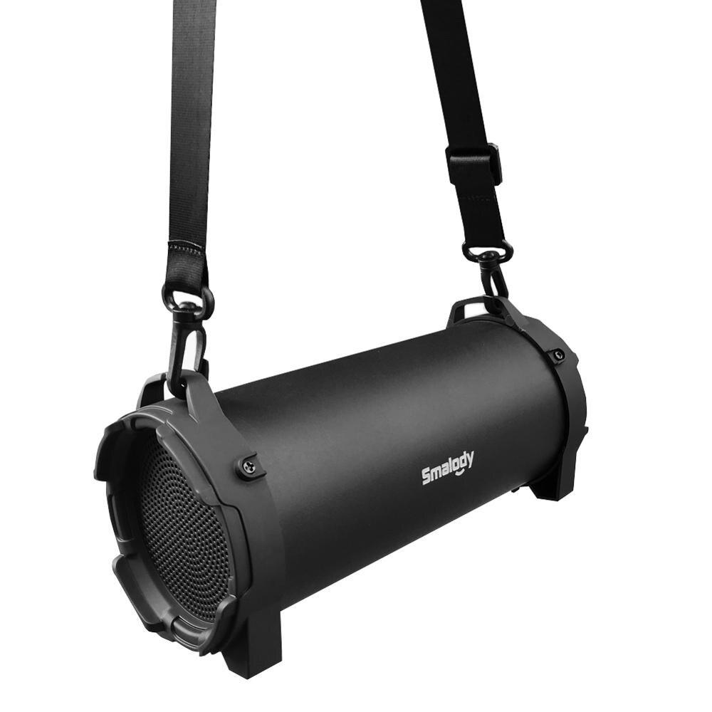 Black  SL-10 Bluetooth Wireless 5.0 High Power Speaker  8W  Outdoor  Barrel  Movement  Creative  Bluetooth  Speaker  Portable