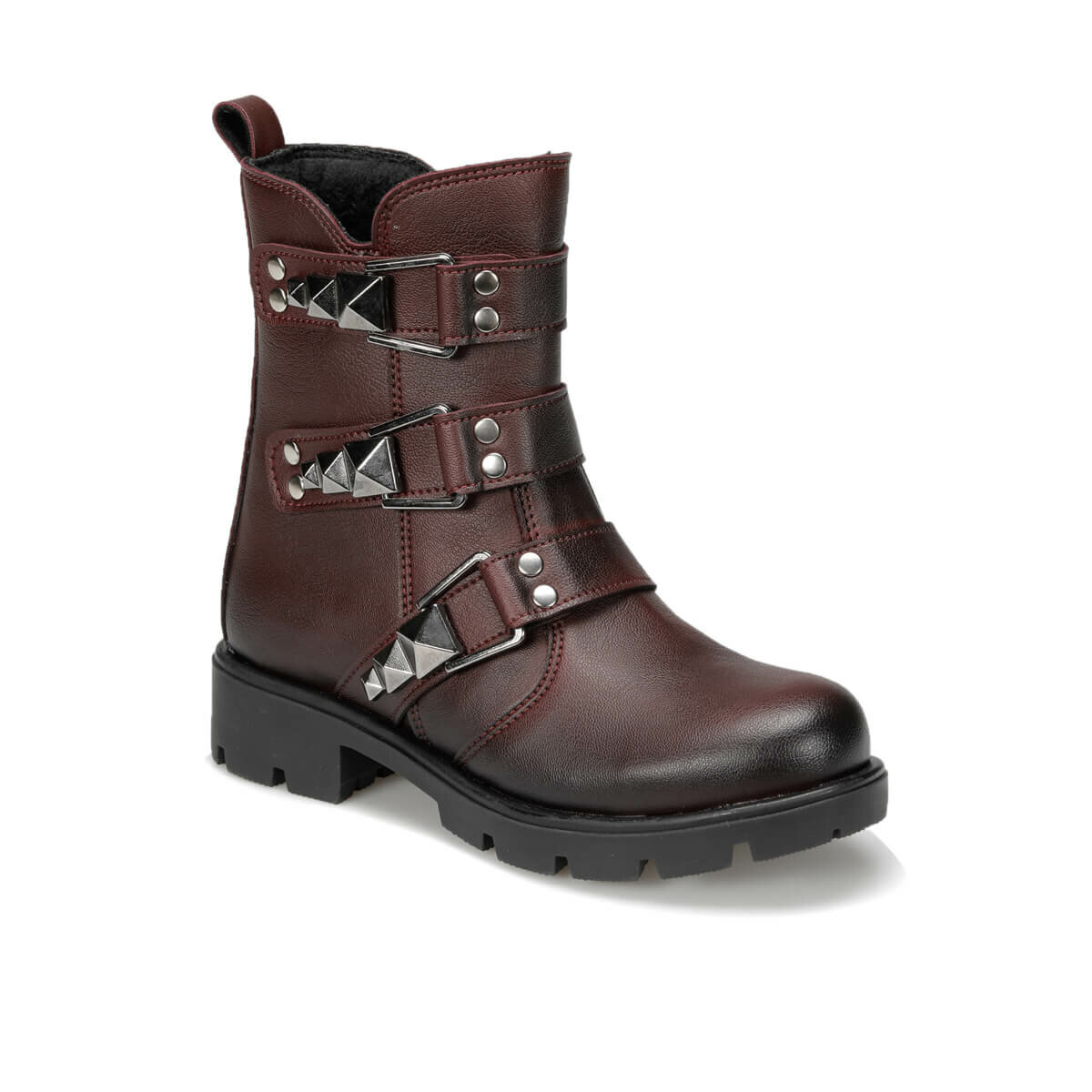 FLO 92. DUKE-2.F Burgundy Female Child Boots PINKSTEP