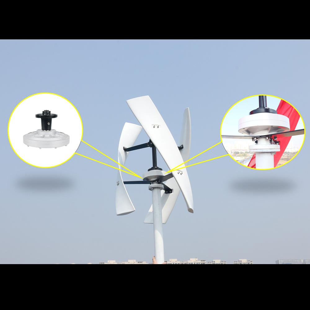 permanente maglev do alternador para turbina eolica vertical 05