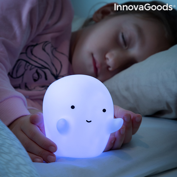 Ghost Multicolour LED Lamp Glowy InnovaGoods|  - title=