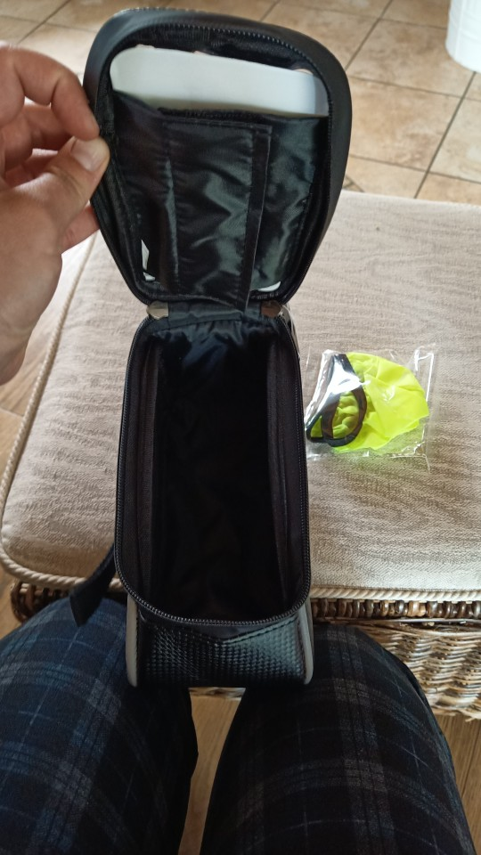 Front Tube Bag with Touch Screen photo review