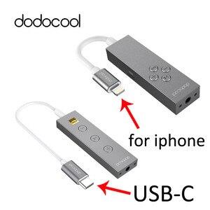 Image 2 - Dodocool Gecertificeerd Hi Res Bliksem Naar 3.5Mm Hoofdtelefoon Audio Jack Koptelefoon Adapter 3.5Mm Koptelefoon Converter In line Afstandsbediening