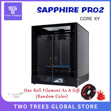 TWO TREES 3D Printer Sapphire Pro CoreXY BMG Extruder Core xy High precision Sapphire S Pro 3d diy Kits 3.5 inch touch screen