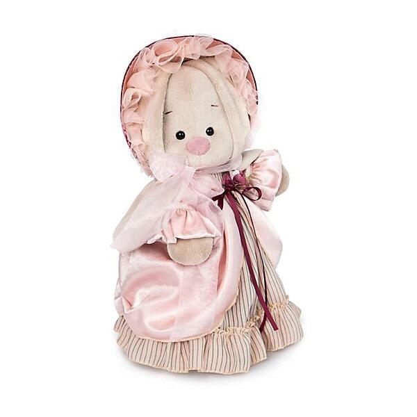 Soft Toy Budi Basa Bunny Lady In Pearl, 32 Cm