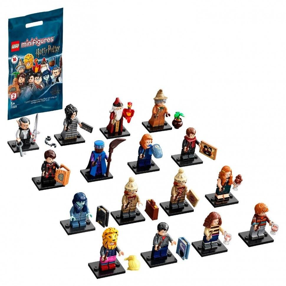 Конструктор LEGO Minifigures Harry Potter 2 71028 Нажимные блоки    АлиЭкспресс
