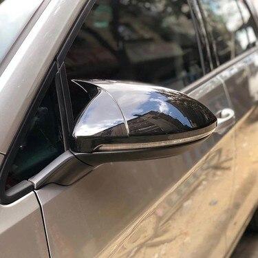 olkswagen Golf 7 - 7,5 ABS ayna kapağı araba dikiz aynası kapatma başlığı