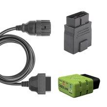 OBDLink LX Bluetooth OBD2 BIMMER кодирующий инструмент для BMW, автомобильный и мотоциклетный сканер Плюс 10pin кабель для мотоцикла