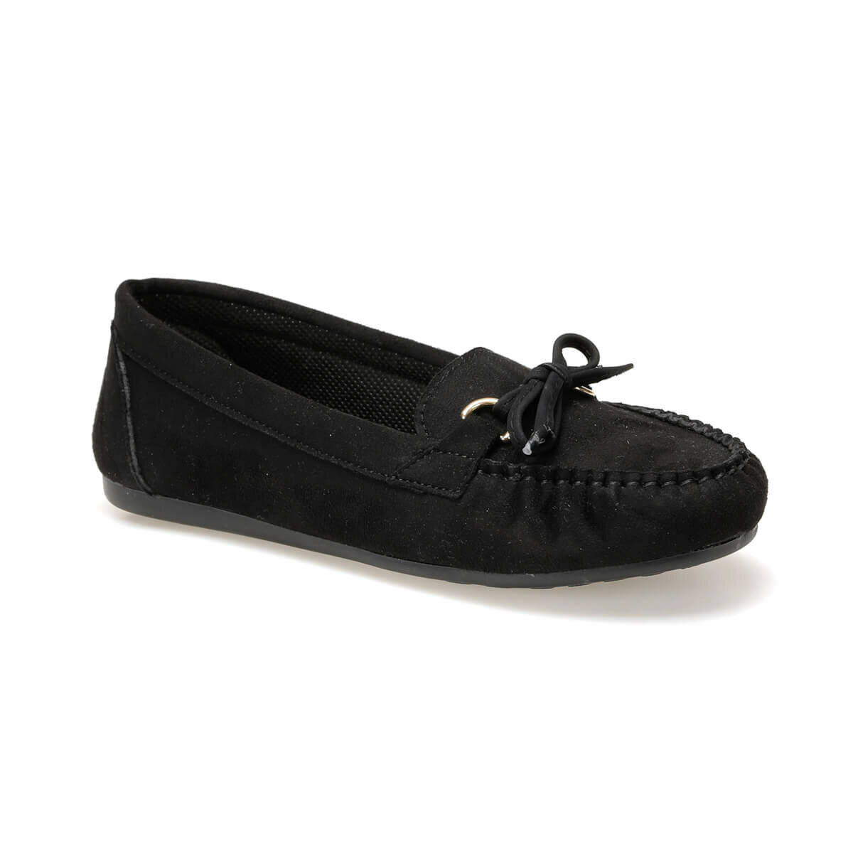 FLO DW19007 Black Women Loafer Shoes Miss F