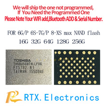 Original New  512G Memory Chip For IPhone 6s 6sPlus 7 7plus SE iPad Pro Nand Flash IC Memory Expansion HDD Expand Capacity Chip