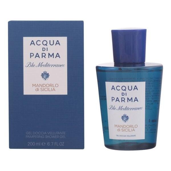 Shower Gel Repairing Blu Mediterraneo Hombredorlo Di Sicilia Acqua Di Parma (200 Ml)