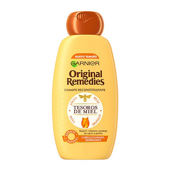 Restructuring Shampoo Original Remedies Garnier (300 Ml)
