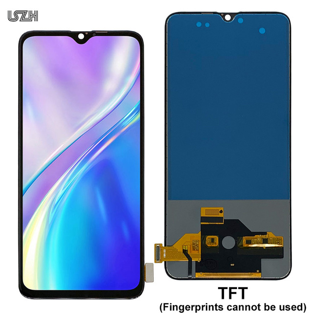 20Pcs Wholesale for OPPO Realme XT Display with Touch Screen for Realme XT 730G LCD Digitizer Pantalla Reapir Parts by DHL EMS 4