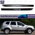 Защитные молдинги двери для Renault Duster 2010-2019 1 комплект / 4 шт Защитный литье внутренний материал АБС-пластик стиль
