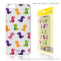 FunnyTech®Stand case for Xiaomi Redmi 5 plus L Mini dinosaurus fund Silicone transparent