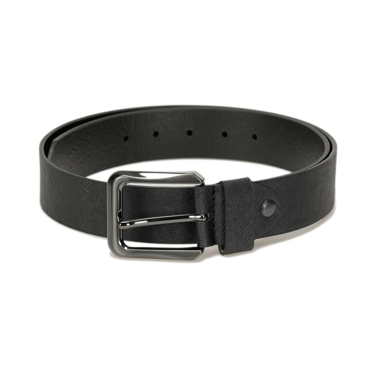 FLO MPRA3402 Black Male Belt Oxide