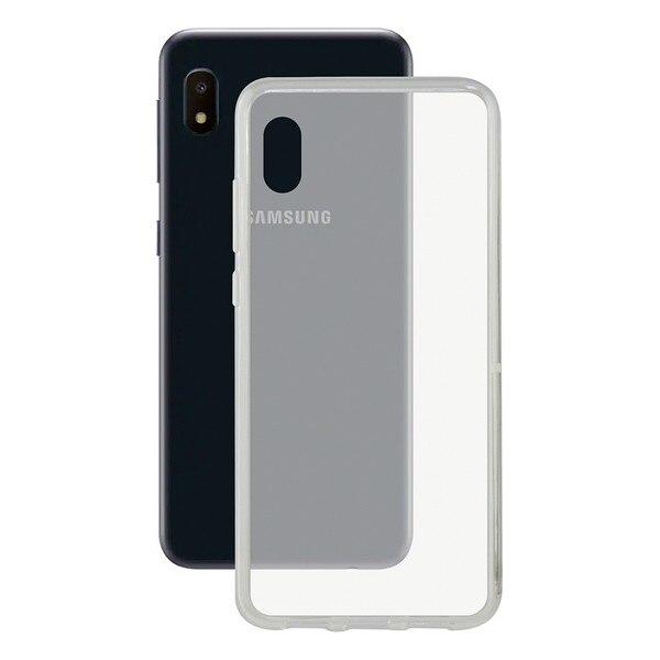 Mobile cover Samsung Galaxy A10e Contact Flex TPU Transparent   - title=