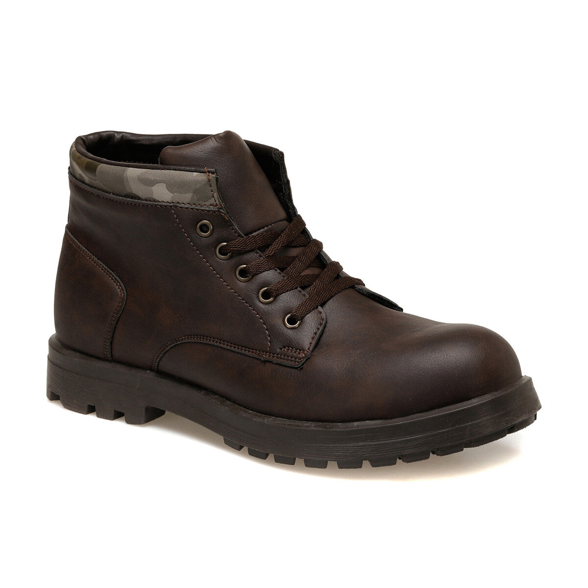 FLO 61333 Brown Men Shoes Forester