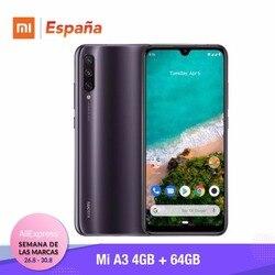 [Wersja globalna dla hiszpanii] Xiao mi mi A3 (pamięci wewnętrzne de 64 GB, pamięci RAM de 4 GB, potrójne kamera) Móvil 1