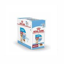 Royal Canin Puppy Medium Carne en Salsa para Cachorros de Raza Mediana Pack Ahorro 10x140 Gr