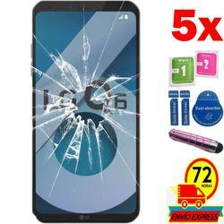 5x Protectors Screen szkło hartowane dla LG Q6 (nie pełne patrz informacje) pióro