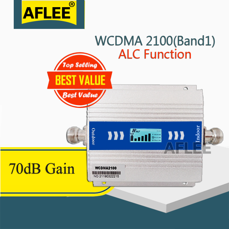 2020 New!! ALC 2100Mhz 3G Amplifier UMTS (Band 1) 2100MHz Mobile Signal Booster 3G Voice 3G Data GSM Signal Repeater
