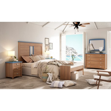 Bedroom Set Mediterranean Style Model Milos