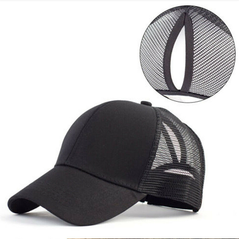 2 Moda Adjustable Glitter Mesh Baseball Cap