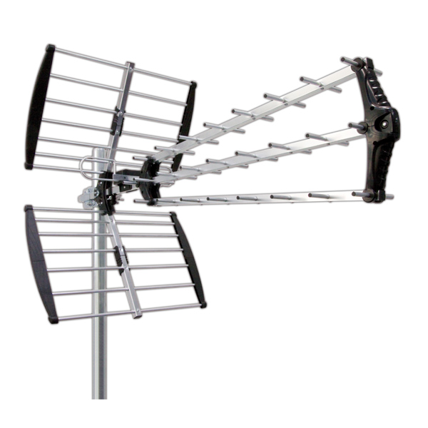 Outdoor TV Antenna 4 Parts 17 DB Electro DH 60.268 8430552096053