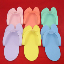 BNG 6 Pairs Nail Slippers +6 pairs Finger Toe Separators Eva Disposable Pedicure Salon