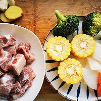 #新春美味菜肴#杂蔬排骨汤的做法图解1