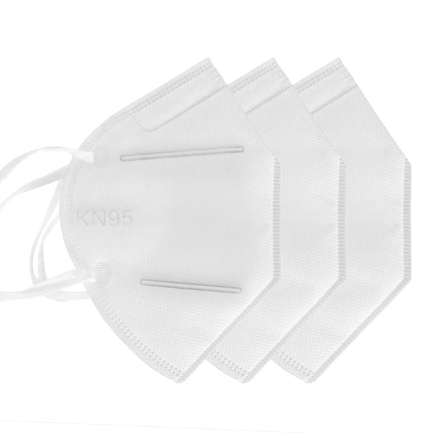 10pcs KN95 Face Mask Protective Mask Safety Masks 95% Filtration for Dust Particulate Pollution N95 Protection 3