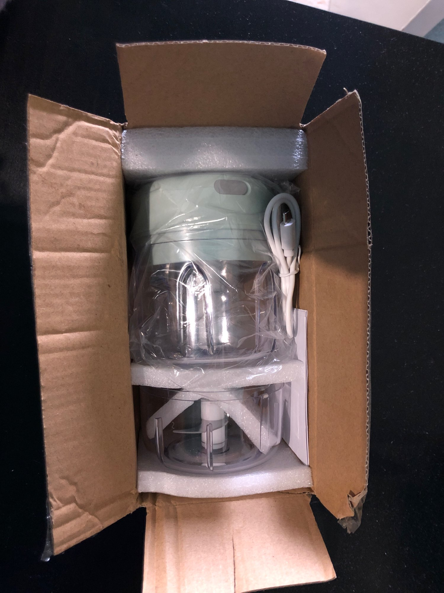FoodChopper™ - Cordless Portable Mini Food Crusher photo review