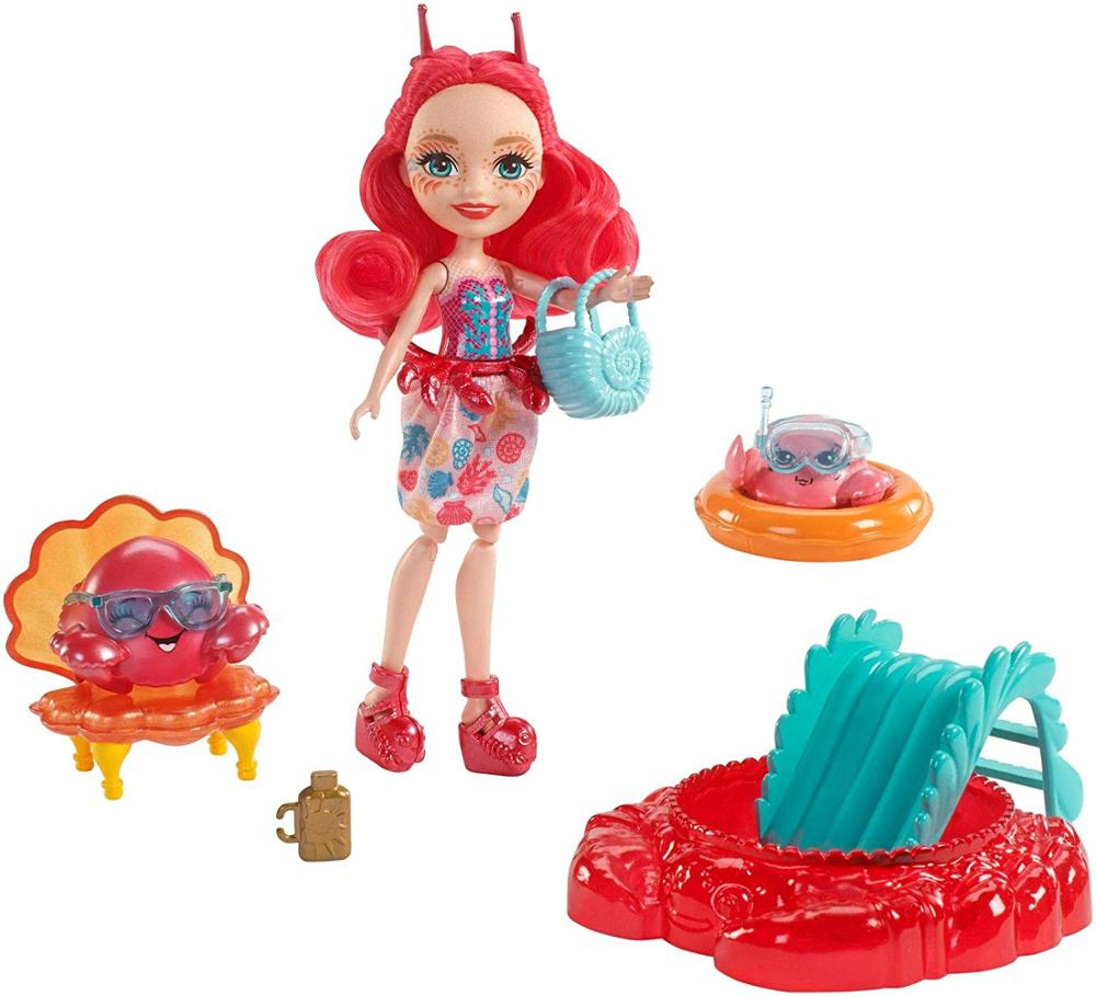 Enchantimals Sea Maid Cameo Crab