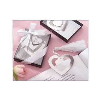 Lote de 20 Elegante Punto Libro Corazón en Caja Regalo - Detalles...