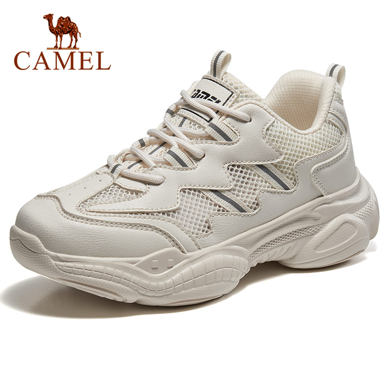 CAMEL Walking Platform Shoes Sneaker Fashion Women Men Classic Outdoor Breathable Shockproof Chunky Stability Couple Casual 2019