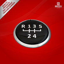 BDP580 5 Speed Gear Knob Emblem Cap Replacement Decal Trim Badge for Polo CADDY CORDOBA IBIZA INCA GOLF BORA JETTA Transporter()
