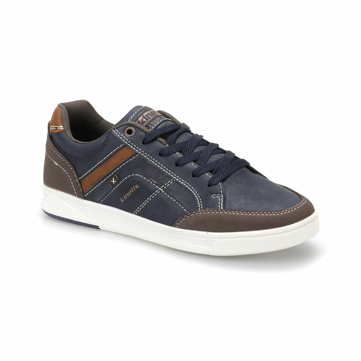 FLO ANDREAS Navy Blue Men Casual Shoes KINETIX
